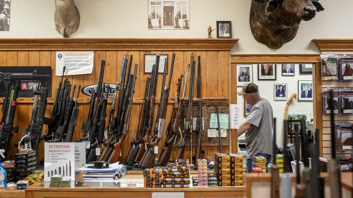 متجر أسلحة في تكساس