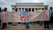 Over 1,000 pro-Palestinians rally in Washington to end US aid to Israel