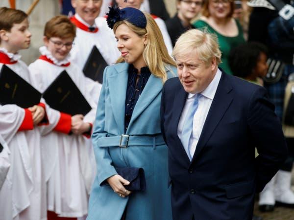 جونسون تزوج من كاري سيموندس رسمياً في حفل صغير