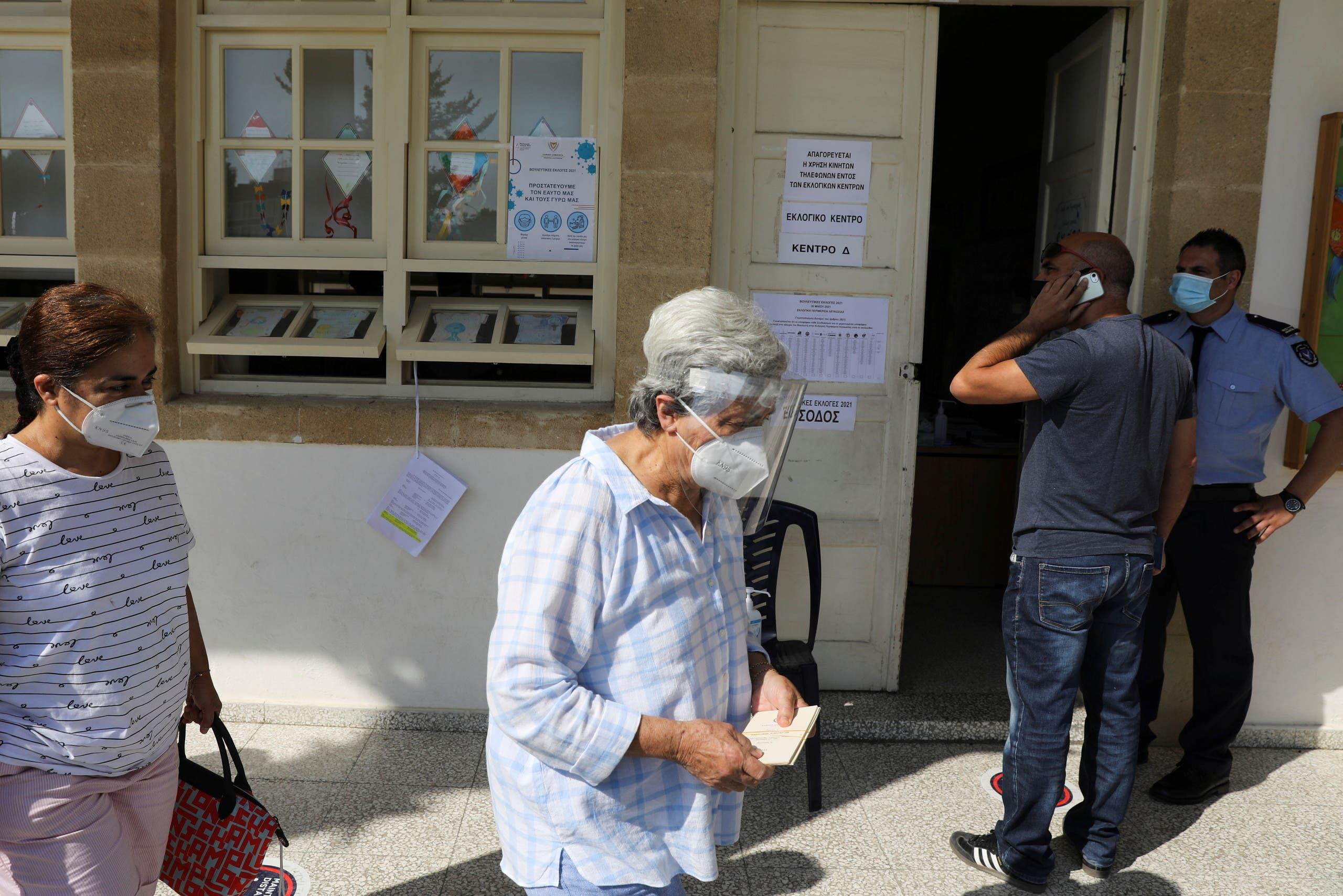 طابور انتظار للتصويت اليوم في قبرص