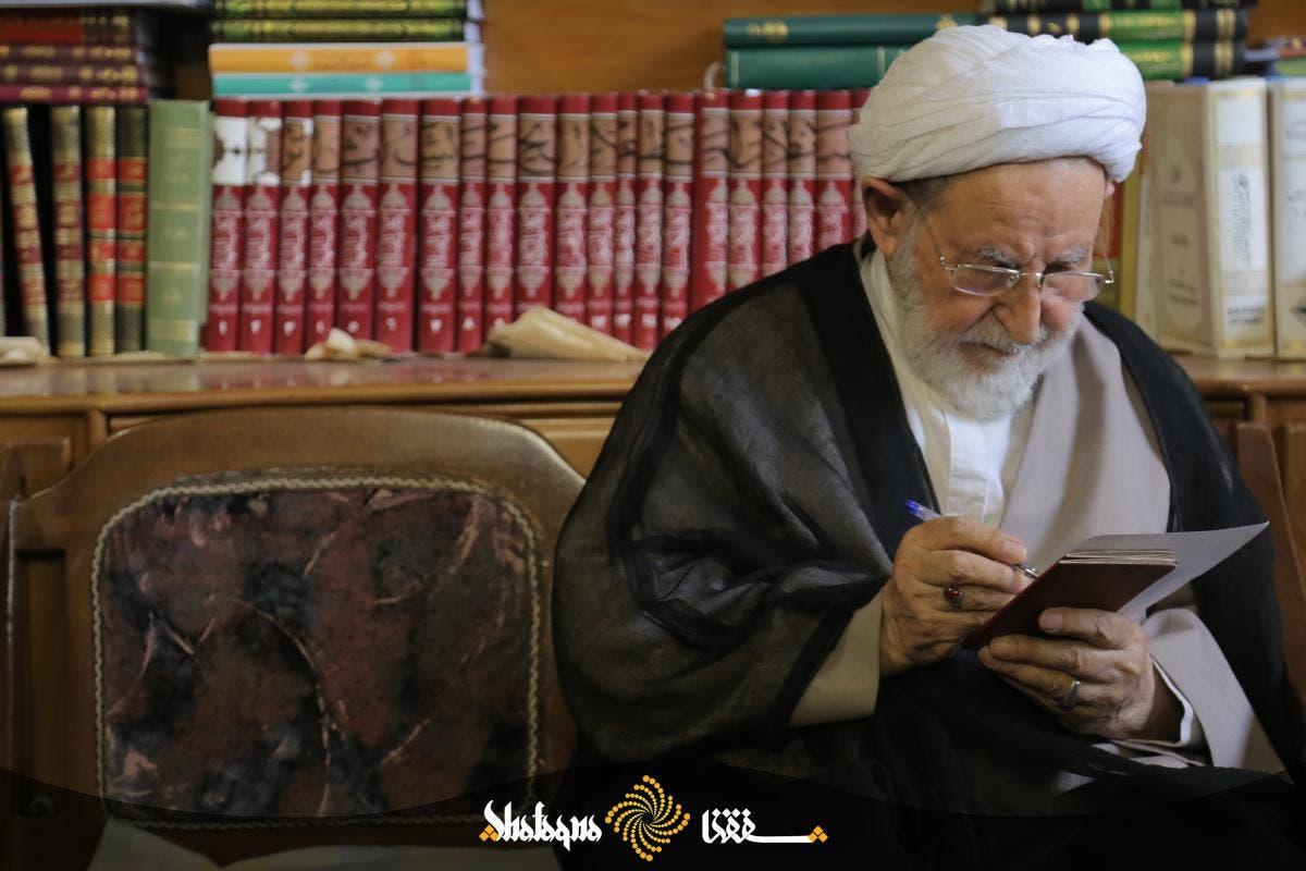 الرئيس السابق لجماعة مدرسي الحوزة العلمية الشيخ محمد يزدي