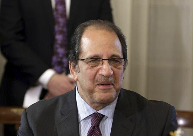 مدير المخابرات المصرية اللواء عباس كامل