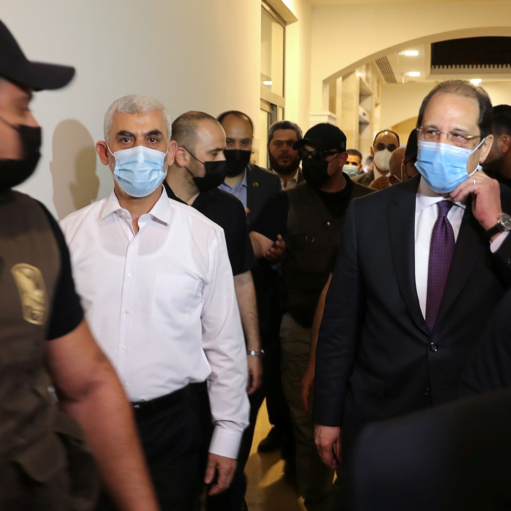 Egypt's intelligence chief meets with Hamas leaders in Gaza for truce talks