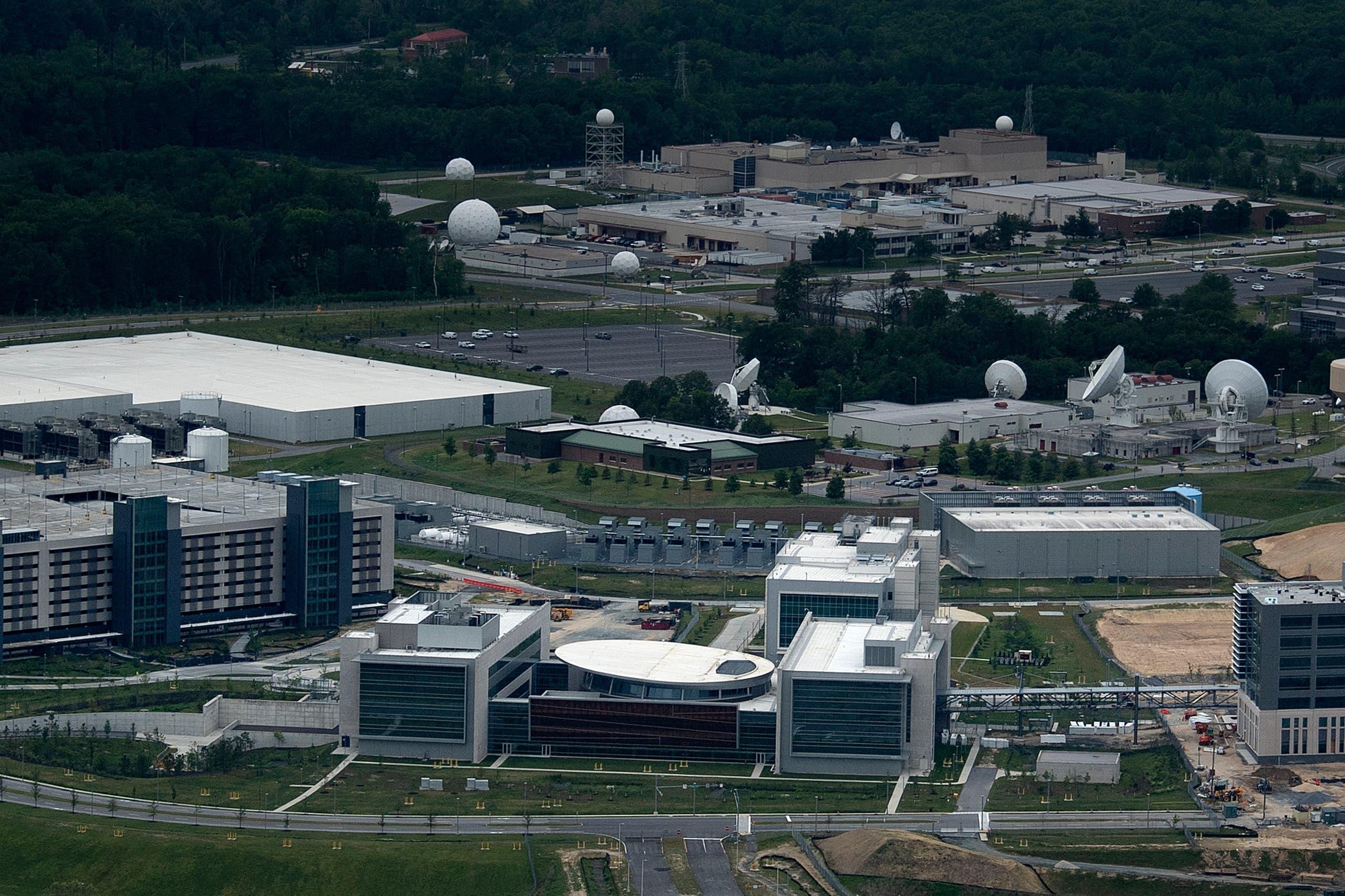 """مقر وكالة الأمن القومي الأميركية """"إن. إس. إيه"""" في ماريلاند"""