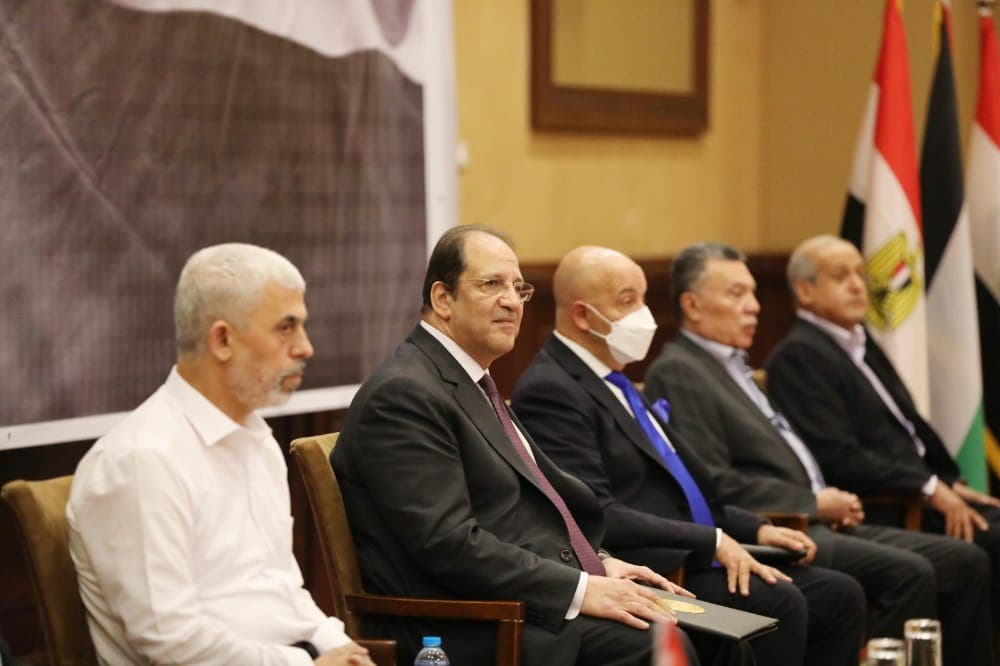 The Hamas and Fatah delegations meet today in Cairo separated