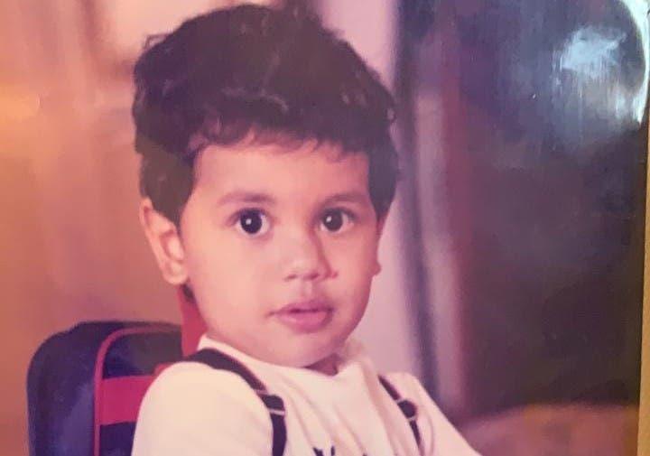 عبدالرحمن في طفولته