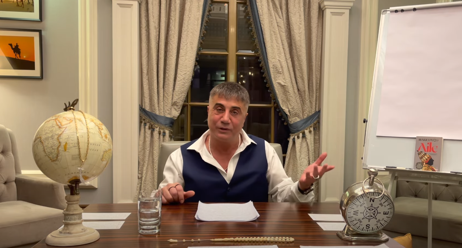 زعيم المافيا التركي سادات بيكير