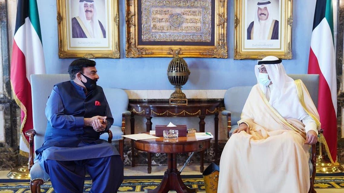 Kuwait and Pakistan