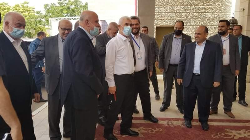 قادة حماس في طريقهم للقاء مدير المخابرات المصرية