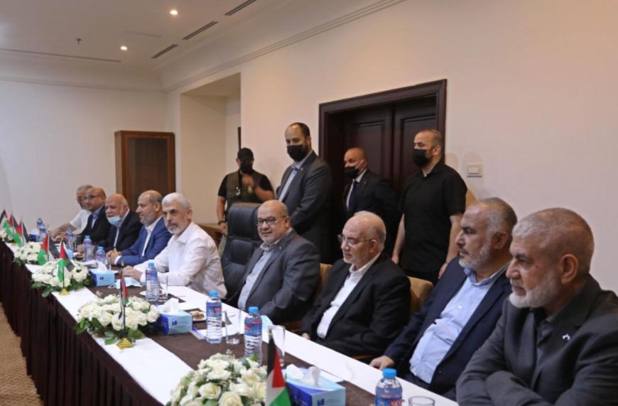 عباس كامل وقادة الفصائل
