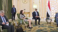 دیدار رئیسجمهوری یمن و وزیر امور خارجه سوئد درباره توافق استکهلم