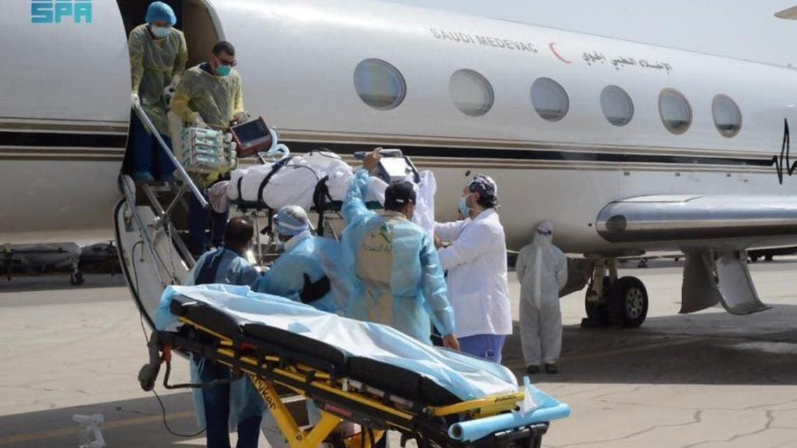 إخلاء طبي لمواطن سعودي