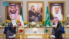 سعودی اور کویتی ولی عہدوں کی ملاقات ،خطے کی صورت حال پر تبادلہ خیال