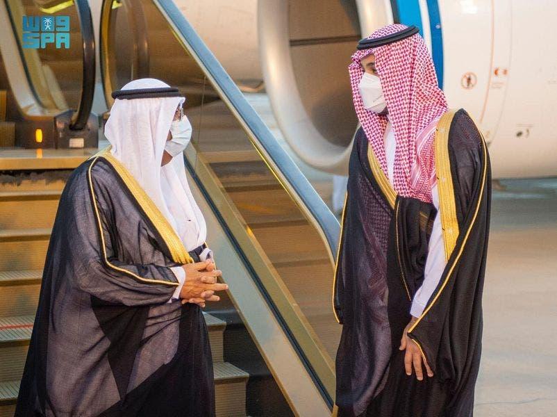 ولي العهد السعودي يستقبل ولي عهد الكويت - واس