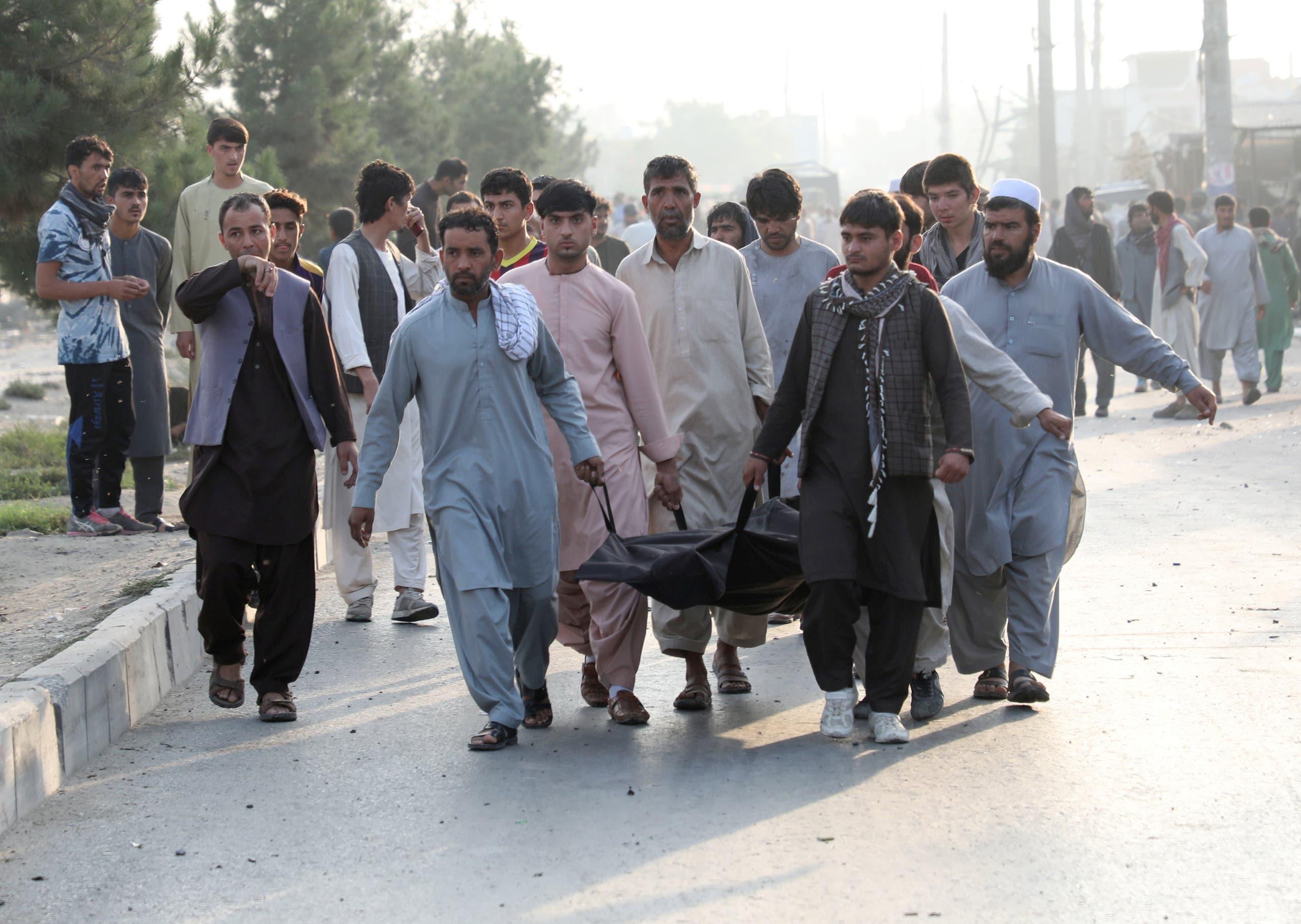 ضحايا في أحد تفجيرات طالبان (رويترز)