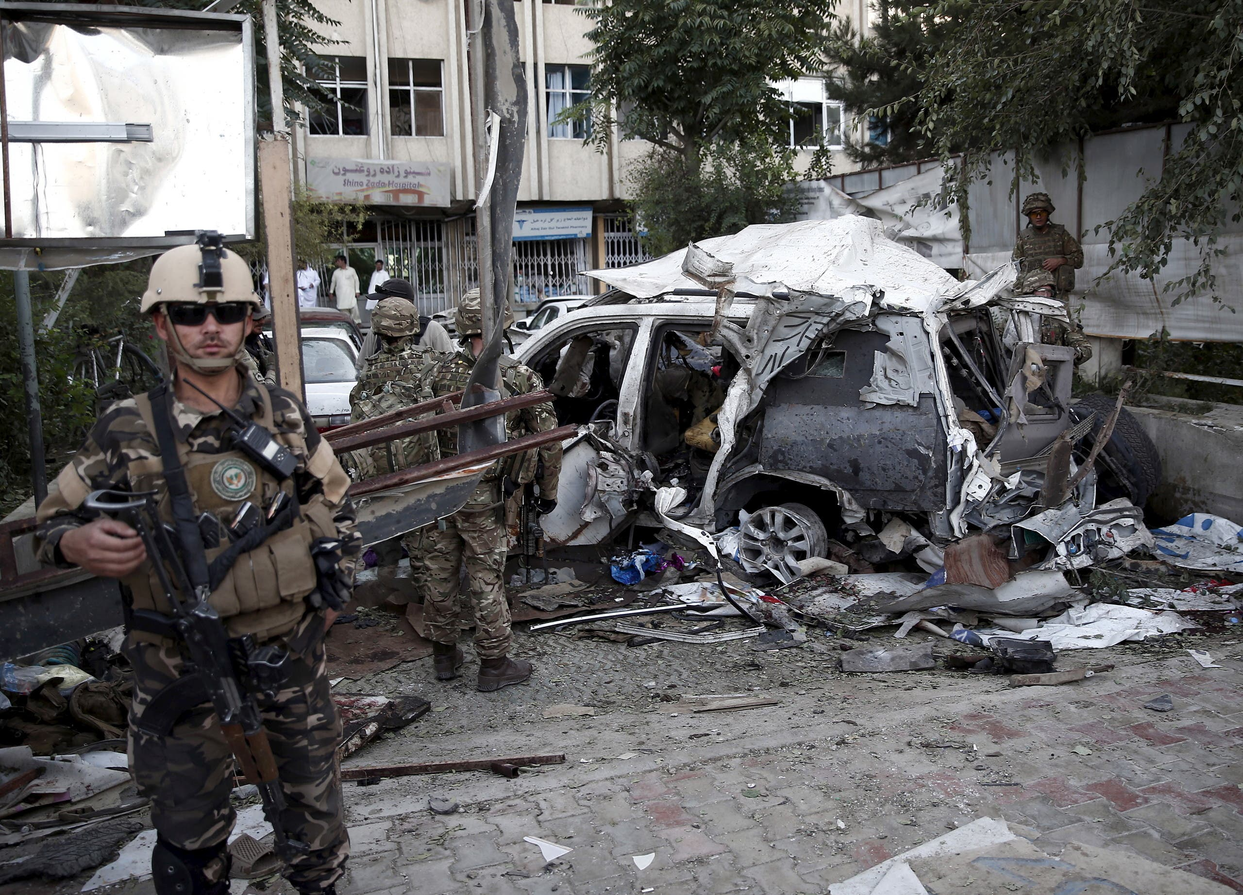 تفجير نفذه عناصر طالبان (أرشيفية - رويترز)