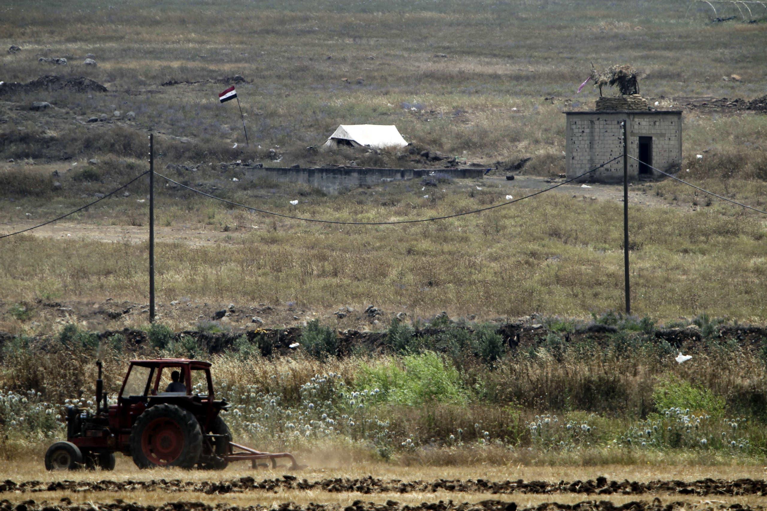 از مرز لبنان و سوریه (بایگانی - خبرگزاری فرانسه)