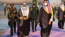 Saudi Arabia's Crown Prince welcomes Kuwait's Crown Prince in Riyadh