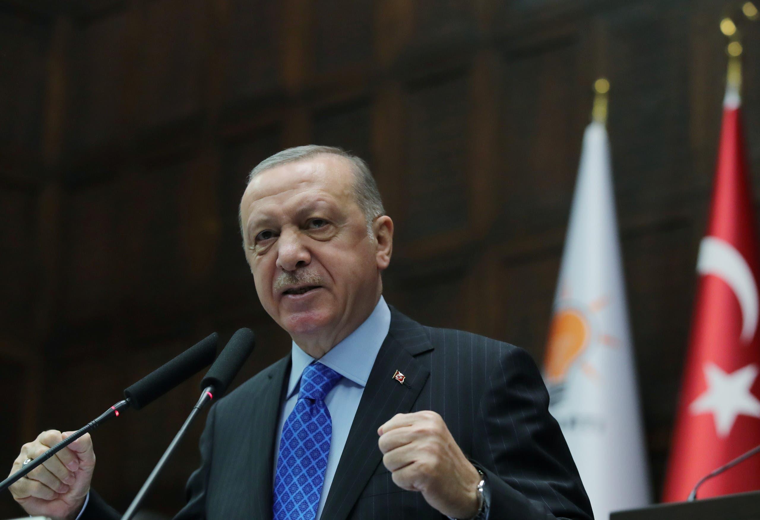 Turkish President Recep Tayyip Erdogan (Reuters)