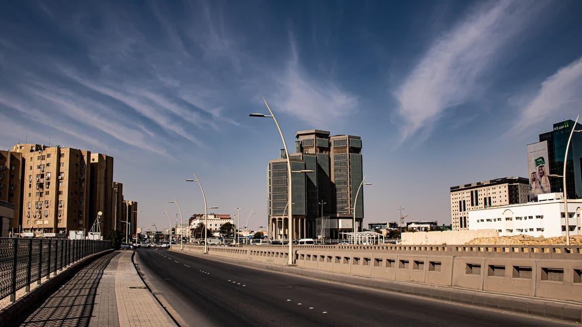 View of a highway in Riyadh, Saudi Arabia. (Unsplash, Mishaal Zahed)