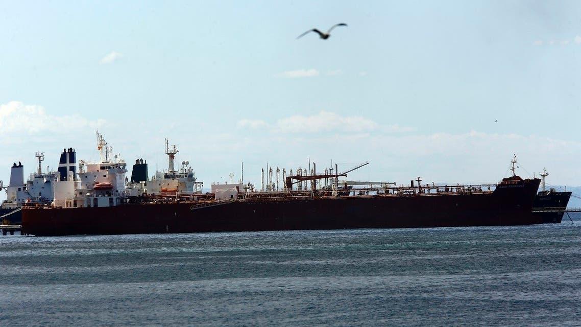 File photo of Iranian oil tanker Forest anchored off the dock of El Palito refinery near Puerto Cabello, Venezuela. (File Photo: AP)