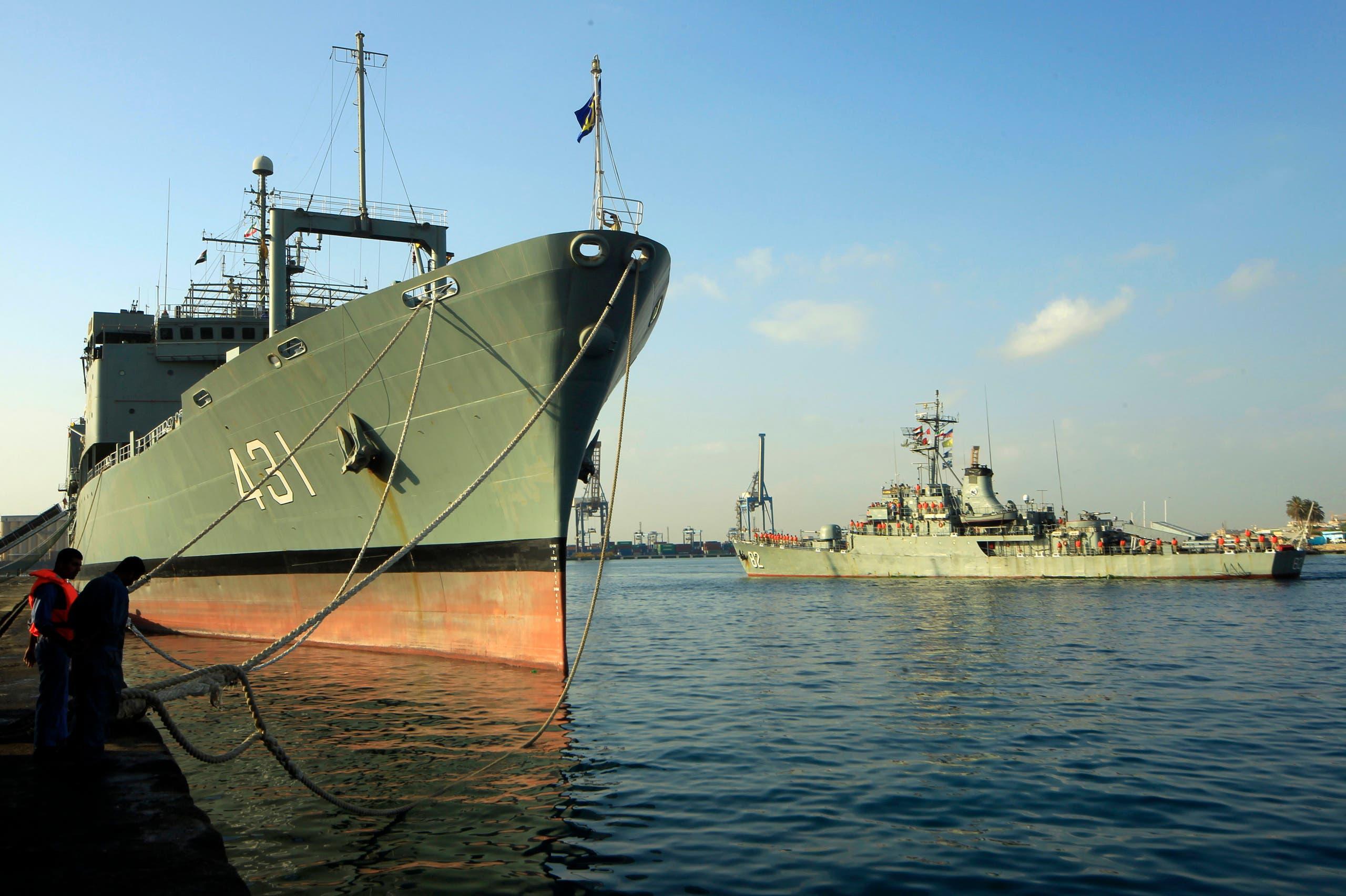 کشتی ایرانی خارک (بایگانی - رویترز)