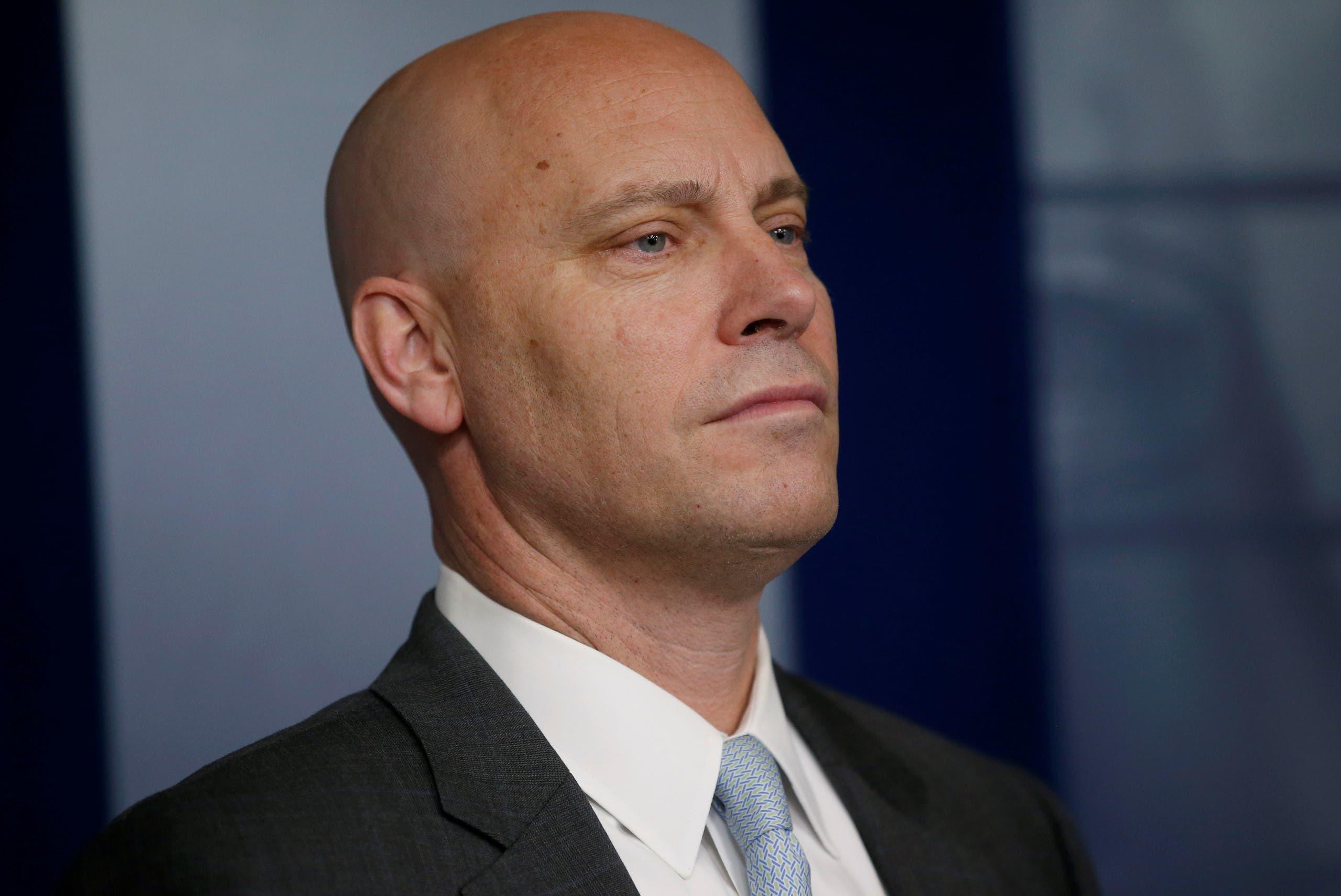 مارك شورت مساعد نائب الرئيس مايك بنس (رويترز)