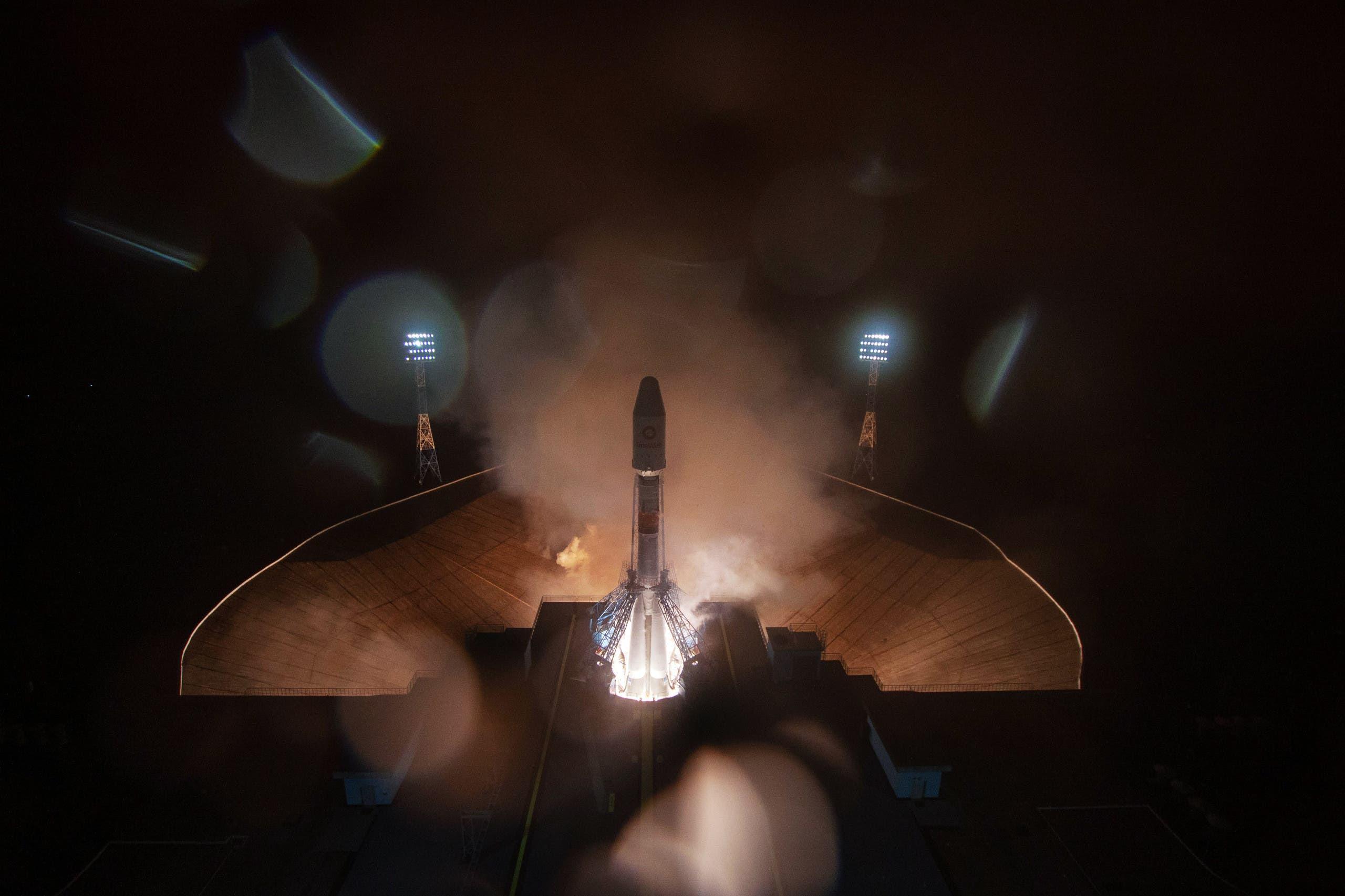مركبة الفضاء الروسية (فرانس برس)