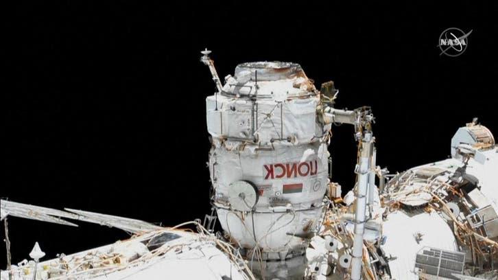 ویدئو؛ پیادهرویی دو فضانورد روس