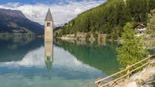 ویدیو؛ کشف دهکدهای در ایتالیا که 70 سال پیش غرق شد