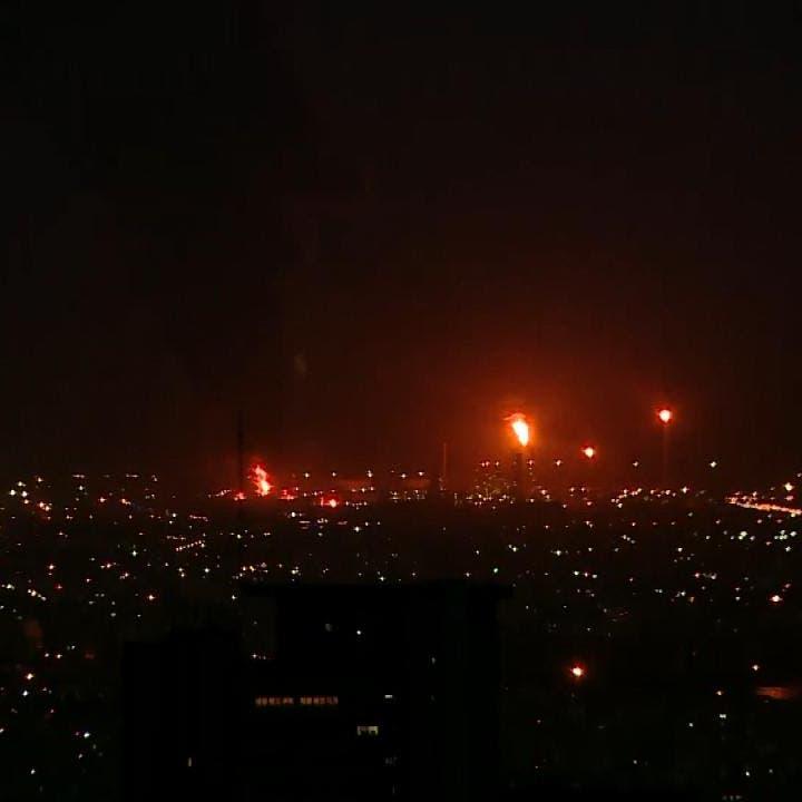 حريق بمركز أبحاث تابع للحرس الثوري غرب طهران
