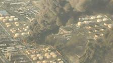 یازده مصدوم در حادثه آتشسوزی پالایشگاه تهران
