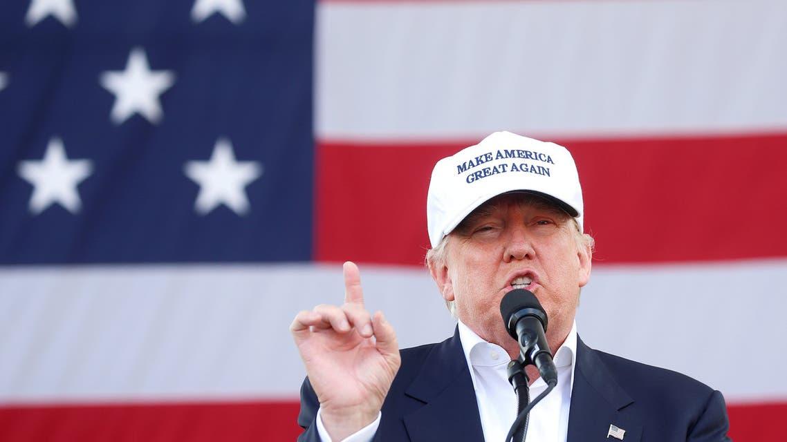 Republican presidential nominee Donald Trump holds a campaign event in Miami, Florida U.S. November 2, 2016. (Reuters)