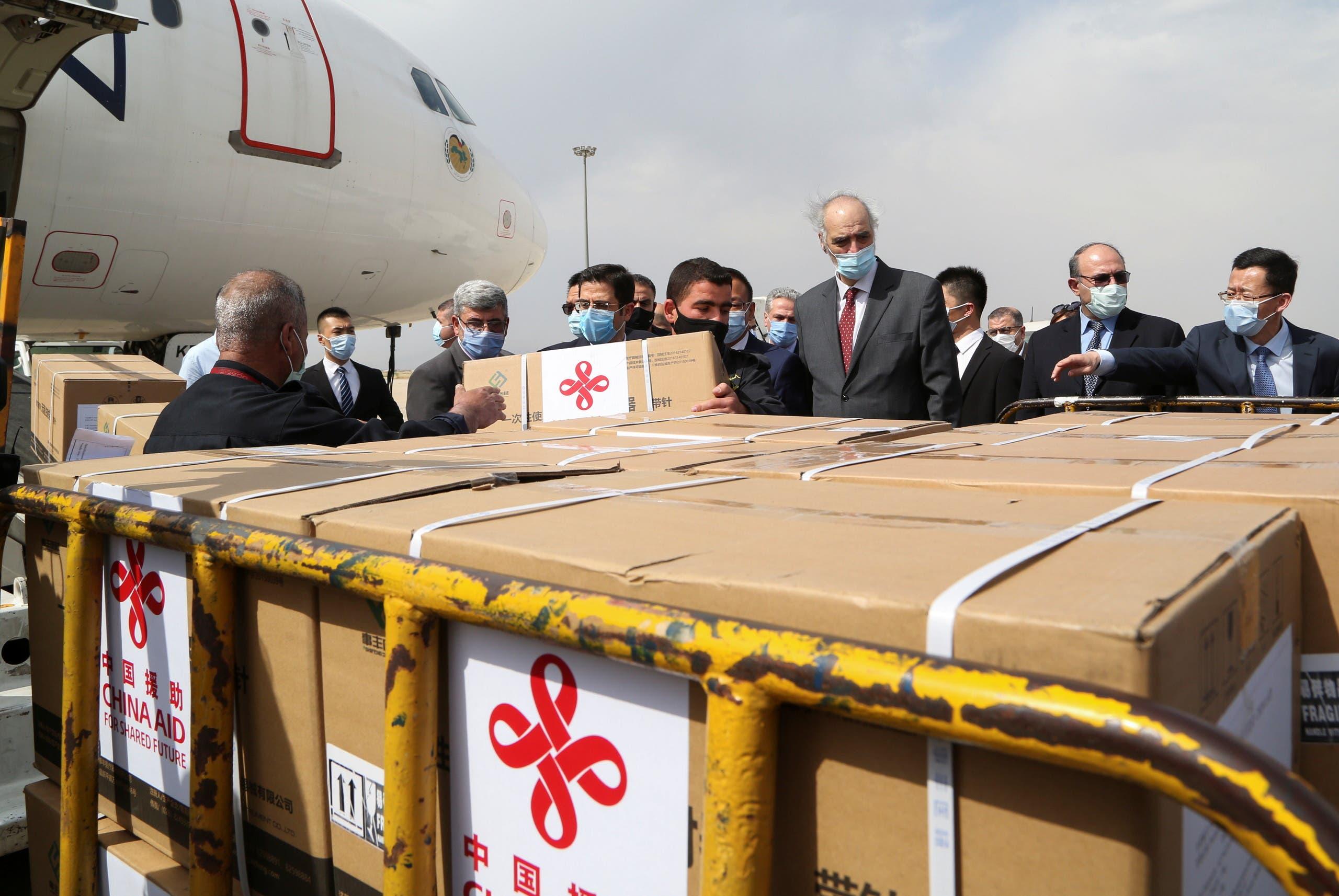 """سوريا كانت قد استلمت في ابريل الماضي شحنة من اللقاح الصيني """"سينوفارم"""""""
