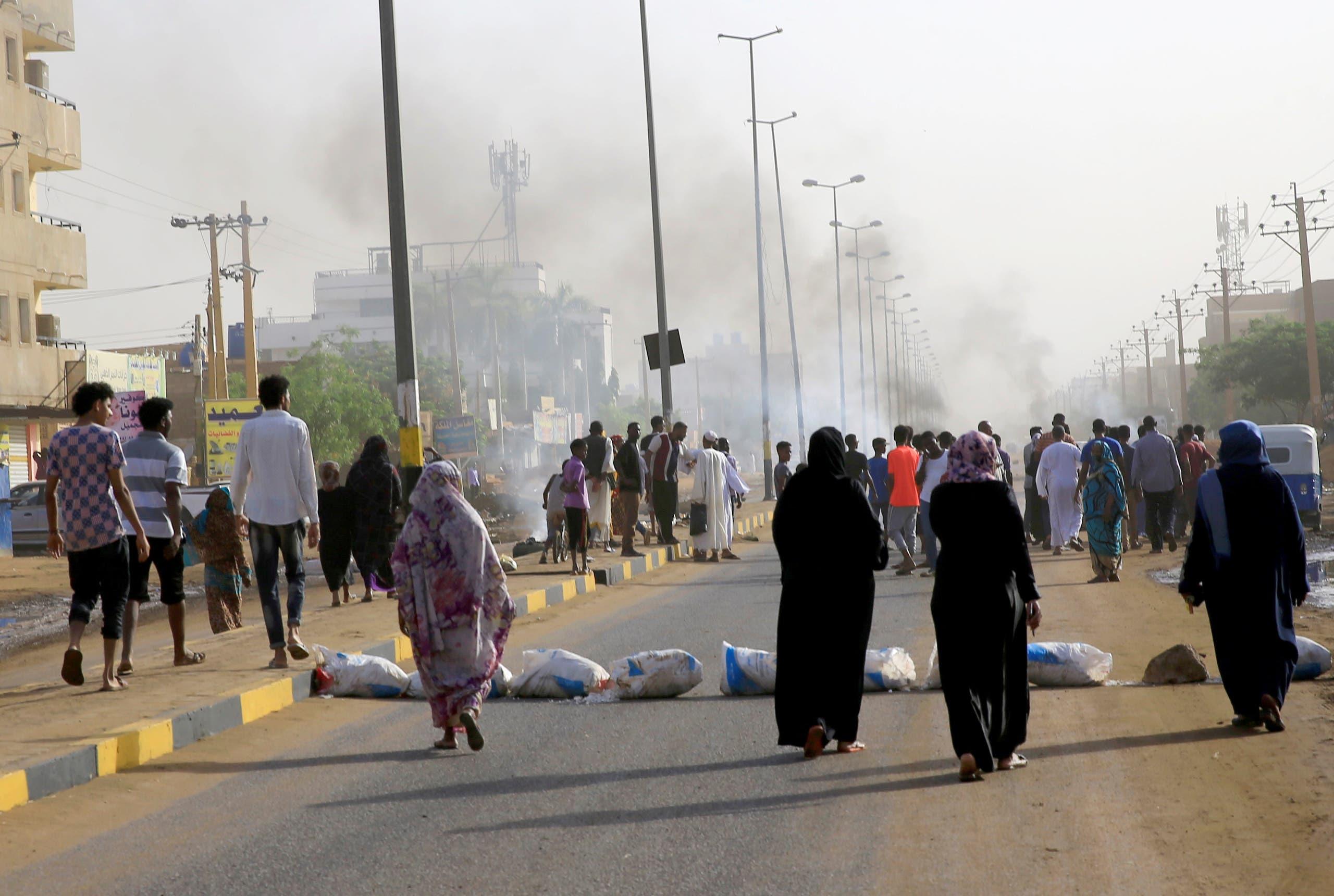 From June 3, 2019 sit-in strike in Khartoum (archive)