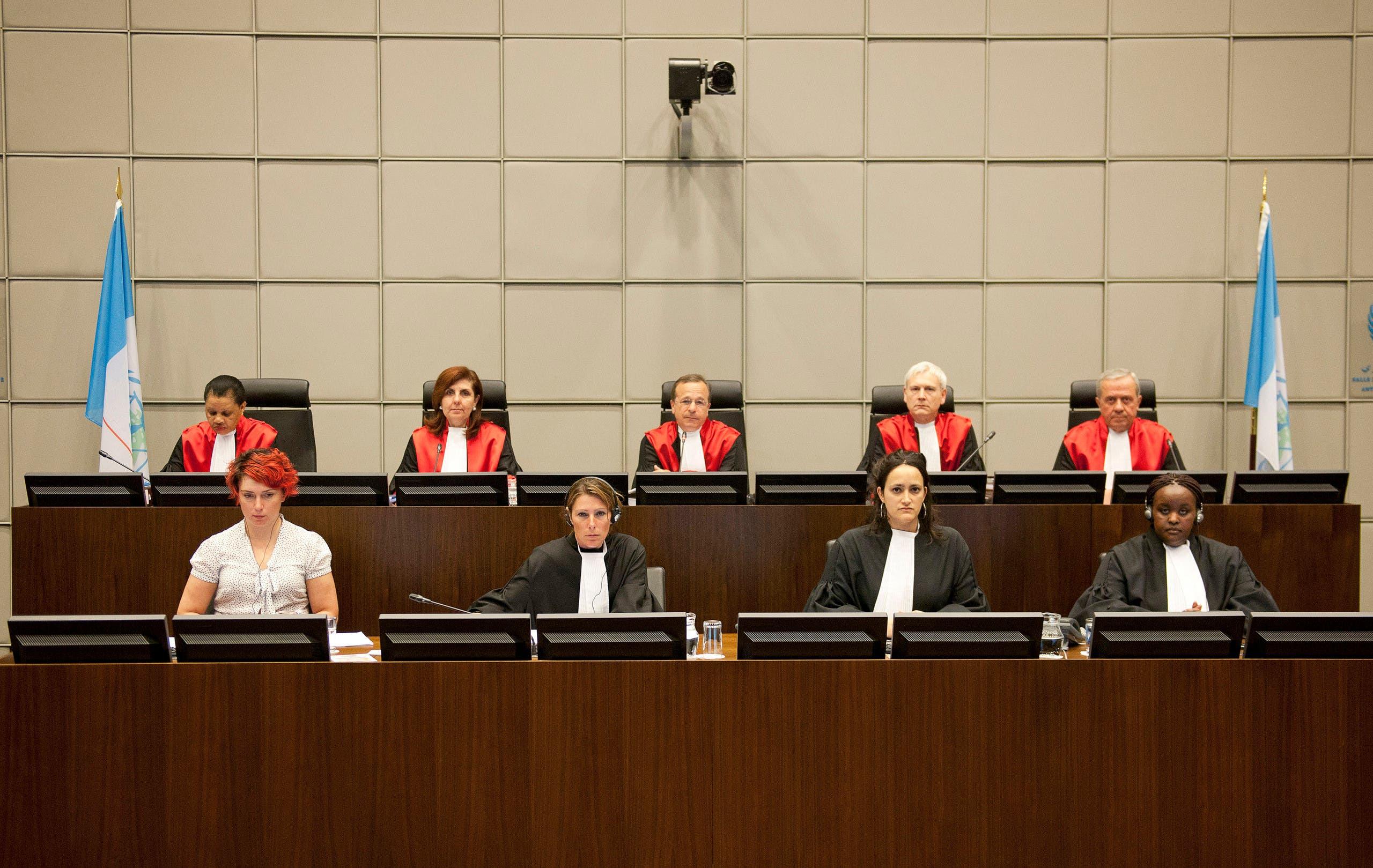قضاة المحكمة الدولية الخاصة بلبنان