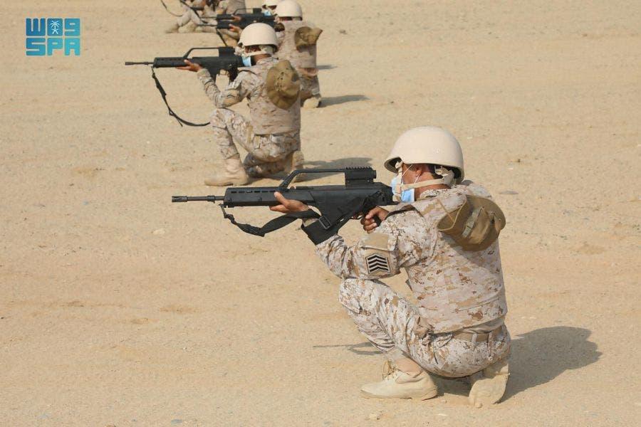 مناورات عسكرية سعودية أميركية