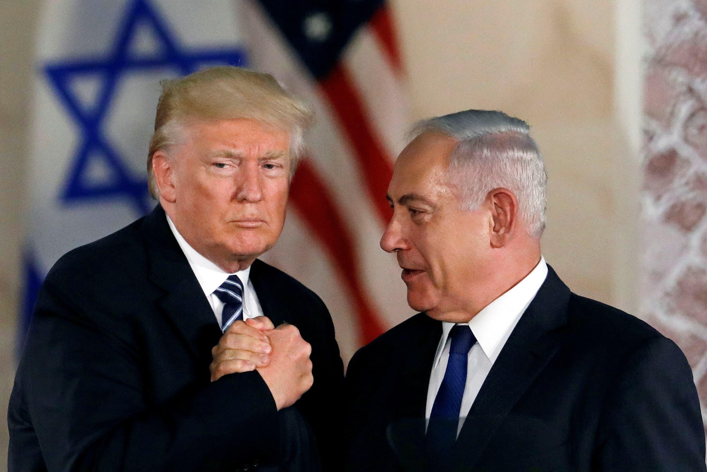 Netanyahu and Trump 2017 in Jerusalem