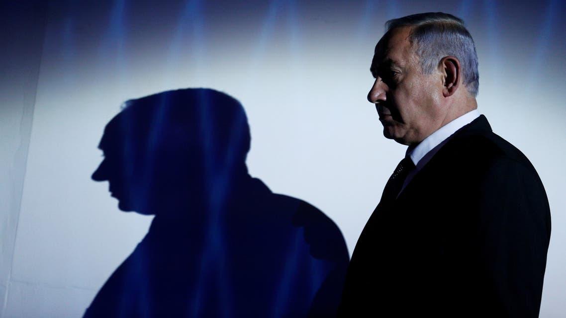 FILE PHOTO: Israeli Prime Minister Benjamin Netanyahu is seen during the the 2016 Genesis Prize award-ceremony in Jerusalem, June 23, 2016. REUTERS/Amir Cohen/File Photo
