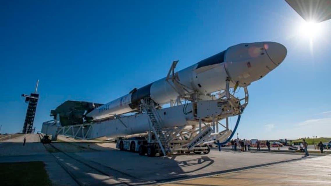 صاروخ إلى محطة الفضاء الدولية