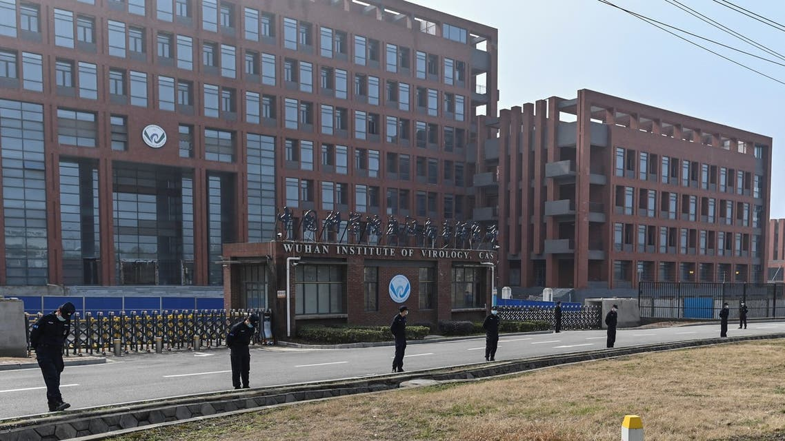 This general view shows the Wuhan Institute of Virology in Wuhan, in China's central Hubei province on February 3, 2021, as members of the World Health Organization (WHO) team investigating the origins of the COVID-19 coronavirus, visit.