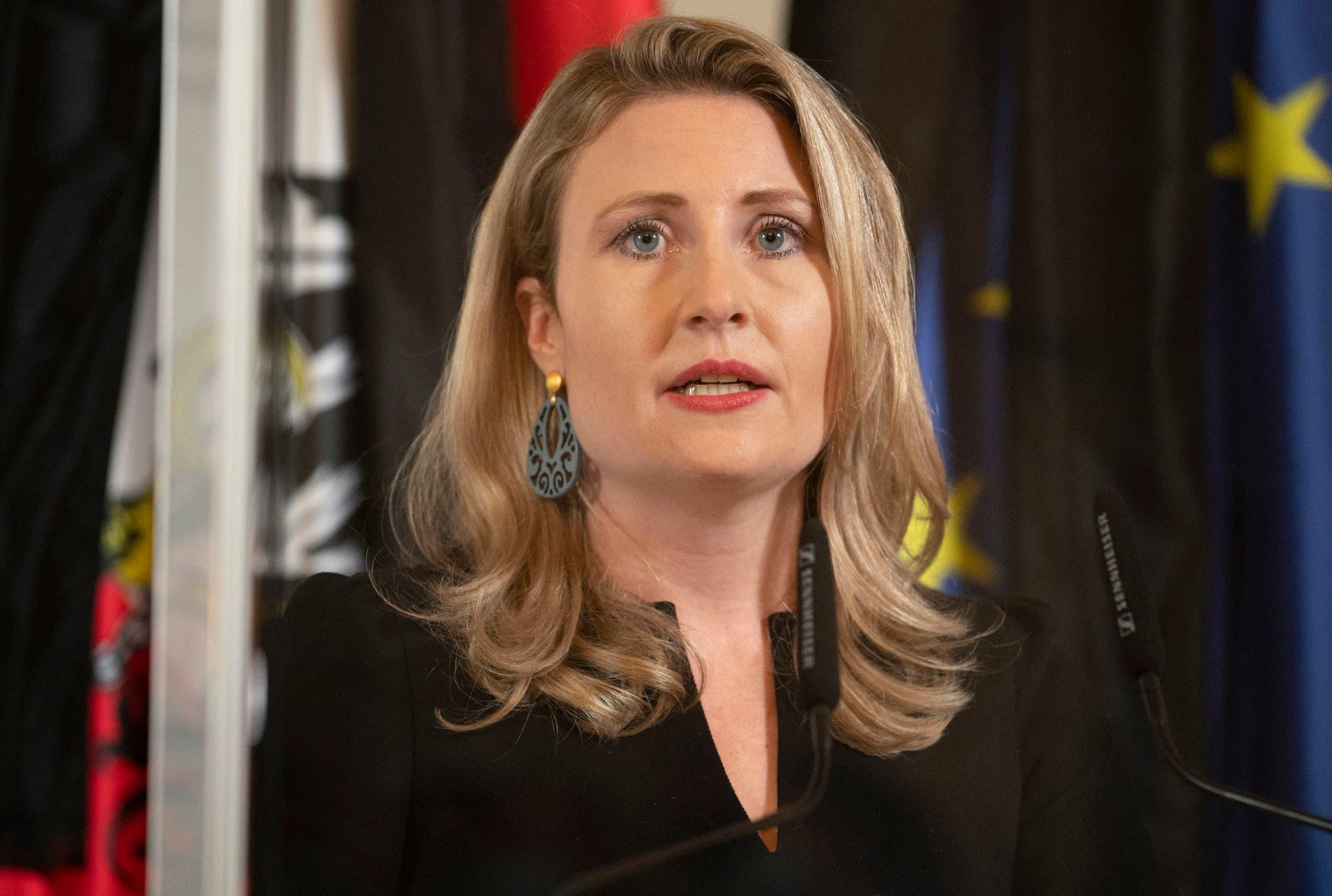 Conservative Integration Minister Susan Raab