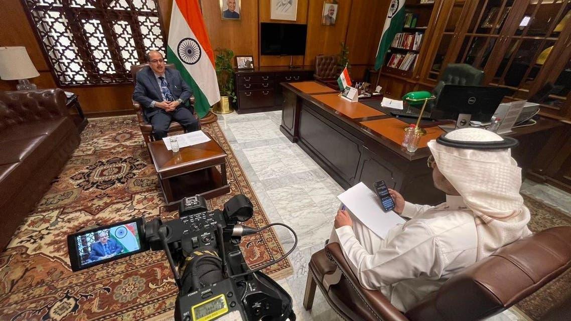 السفير الهندي في حديثه إلى العربية