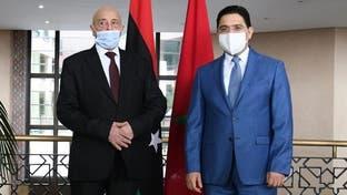 عقيلة صالح من المغرب: الحل في ليبيا يكمن بالانتخابات
