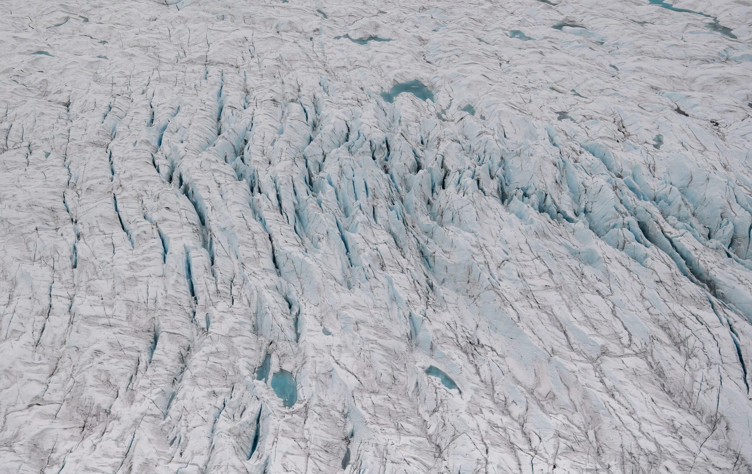 الجليد في القطب الشمالي
