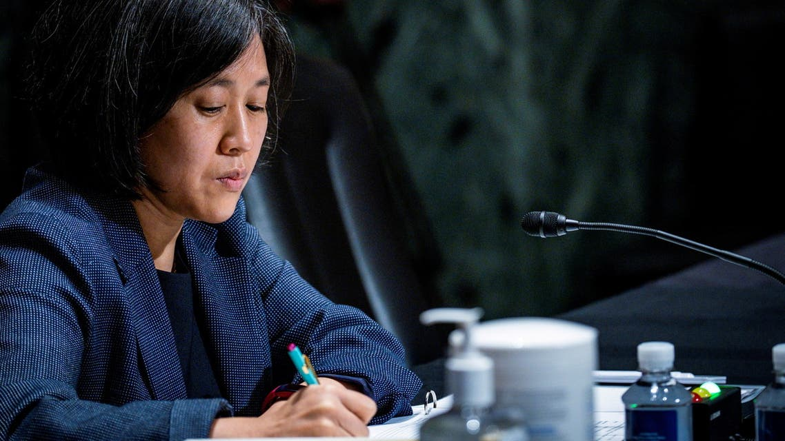 US Trade Representative Katherine Tai testifies before the Senate Finance Committee on Capitol Hill in Washington, US, May 12, 2021. (File photo: Reuters)