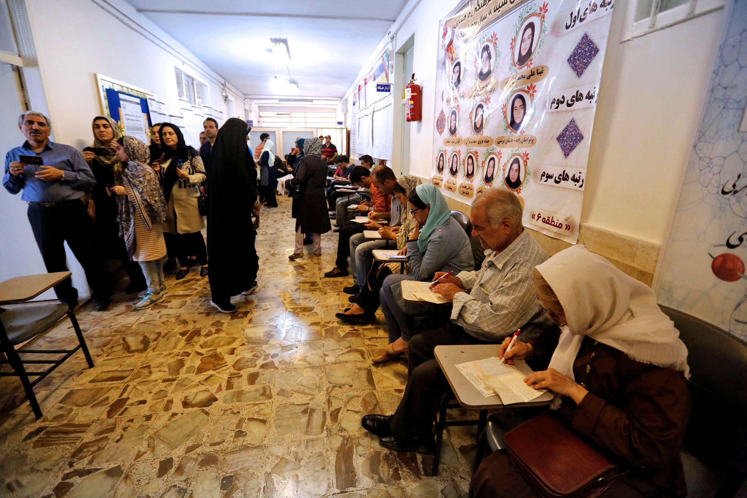 من انتخابات 2017 الرئاسية في إيران