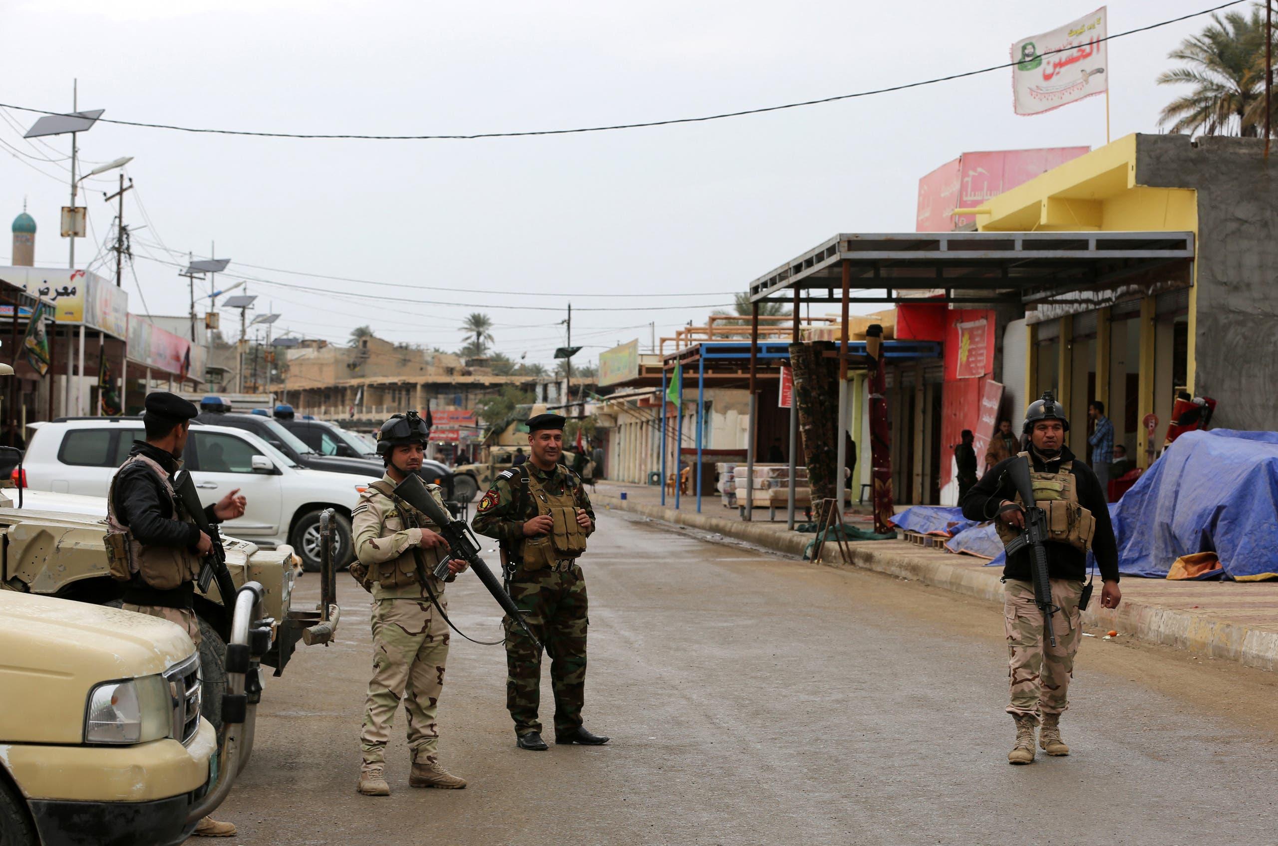 Iraqi intelligence arrests 12 terrorists in Diyala