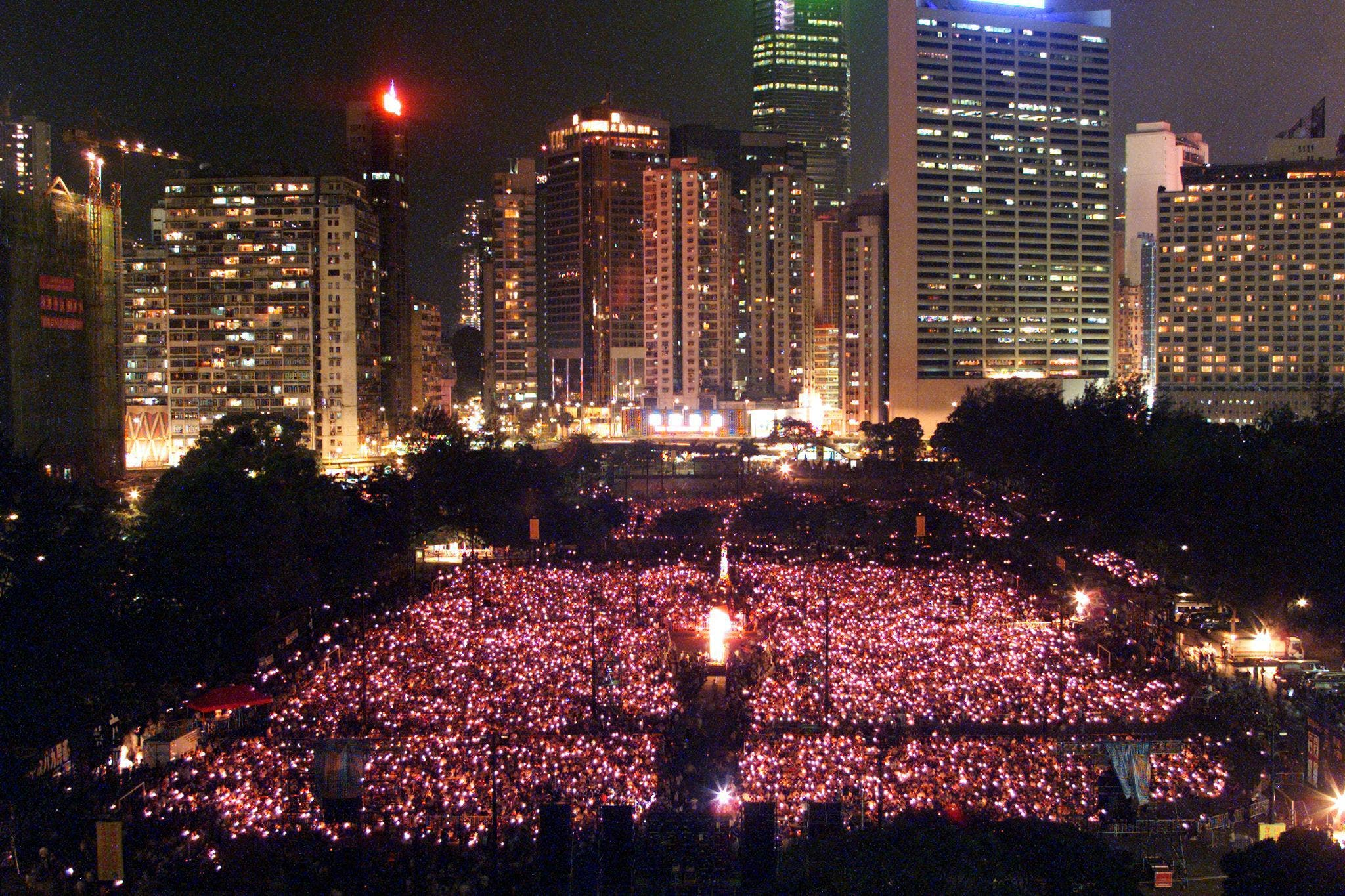 From the Tiananmen Revival in Hong Kong 1999