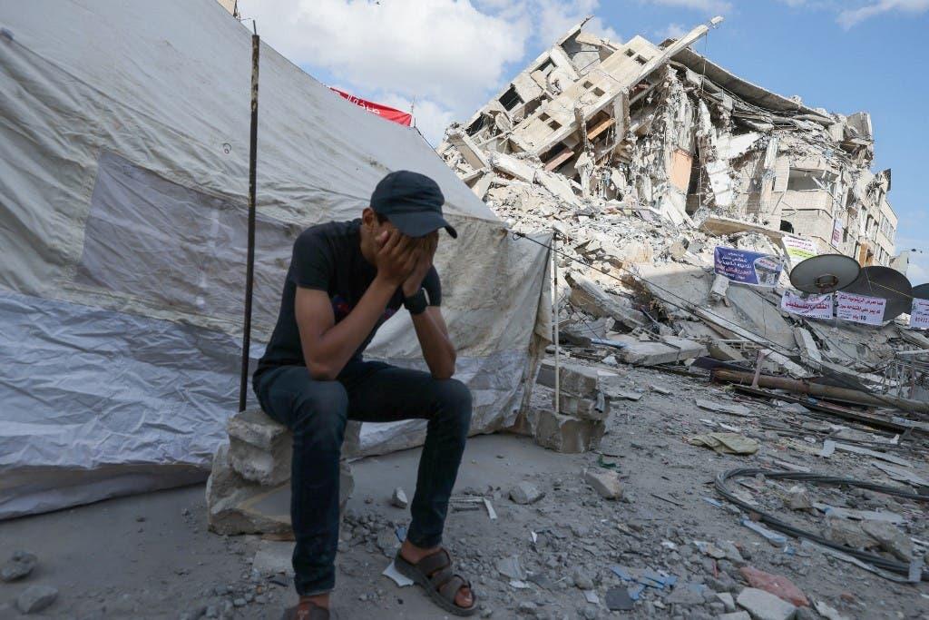 اسرائیلی جنگ کے دوران غزہ میں ہونے والی تباہی